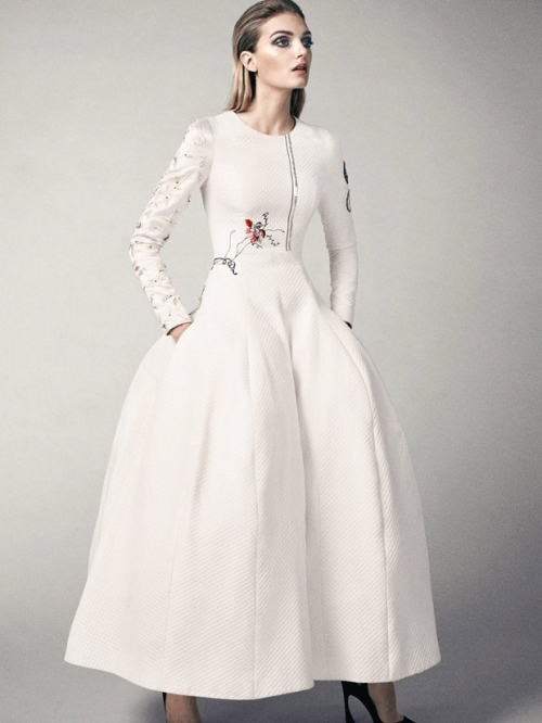 Lily Donaldson for Vogue Turkey by David Slijper December 2014
