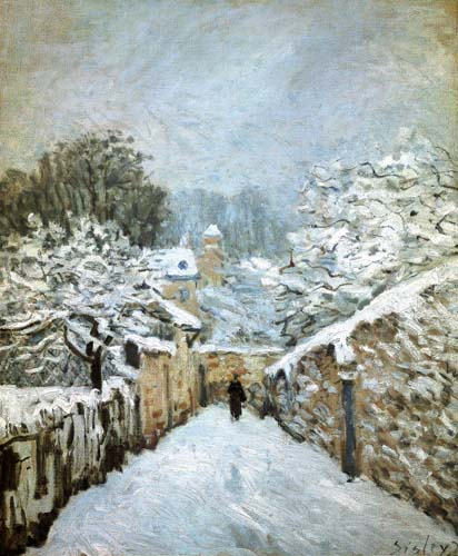 Sisley, Winter in Louveciennes