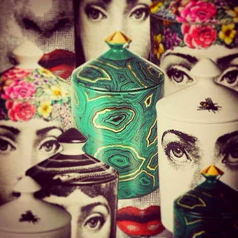 Fornasetti candles @ Caigo Da Mar
