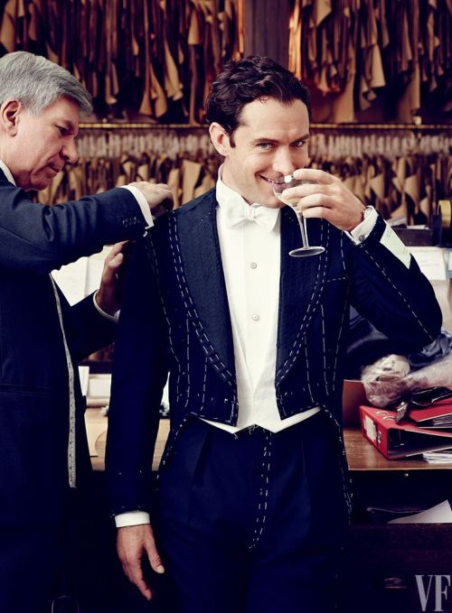 Jude Law for 2015 Hollywood Portfolio, Vanity Fair March 2015