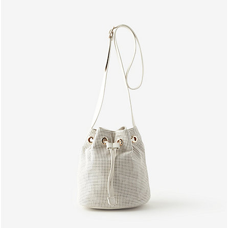 White Echo Park tote by Clare Vivier for & Other Stories