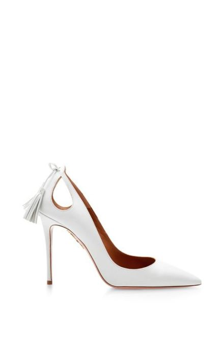 Acquazzurra Forever Marilyn leather pumps Spring 2015
