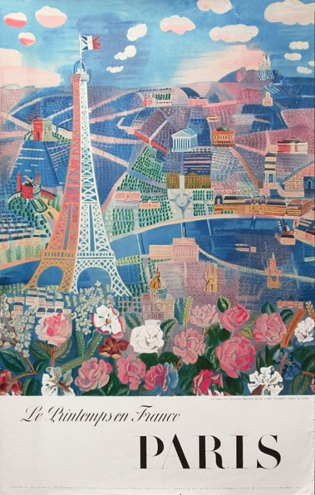 Raoul Dufy Le Printemps En France, 1960