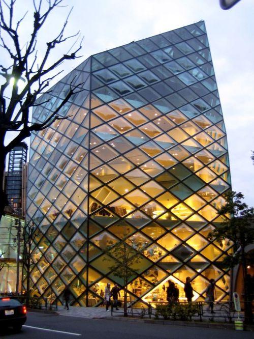 Prada building by Herzog & De Meuron