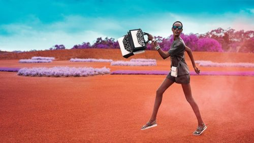 Ajak Deng for Mimco S/S 2015