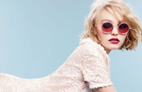 Lily Rose Depp for Chanel Ad Campaign Fall 2015
