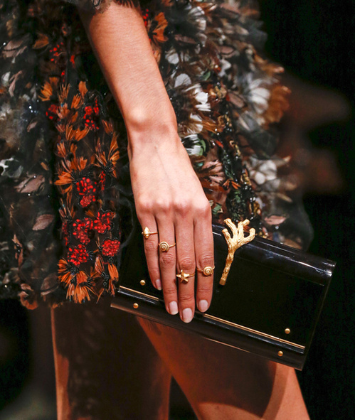 Valentino rings Summer 2015