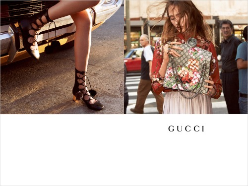 Gucci F/W 2015 shot by Glen Luchford