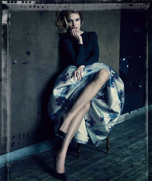 Natalia Vodianova for Dior 2012 by Paolo Roversi