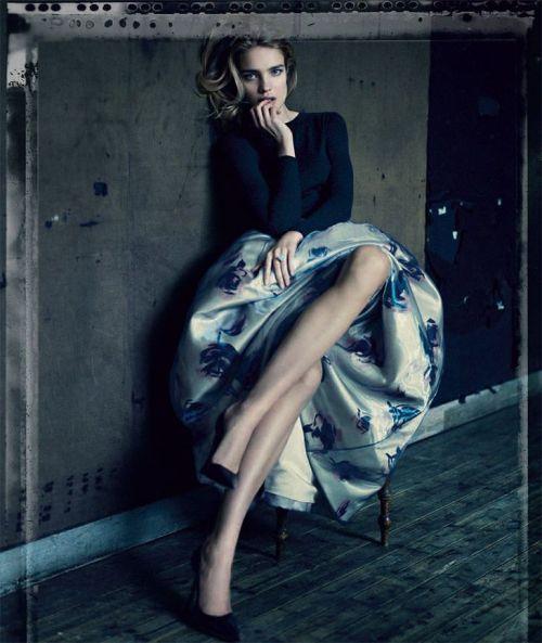 Natalia Vodianova for Dior 2012 by Paolo Roversi