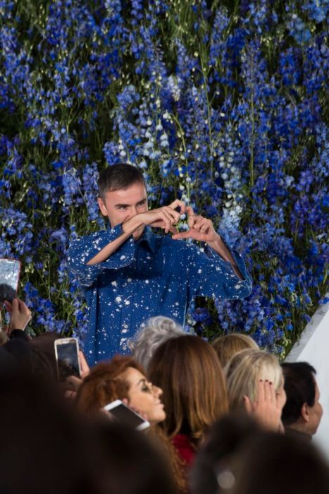 Raf Simons, Dior Fashion Show October 2015