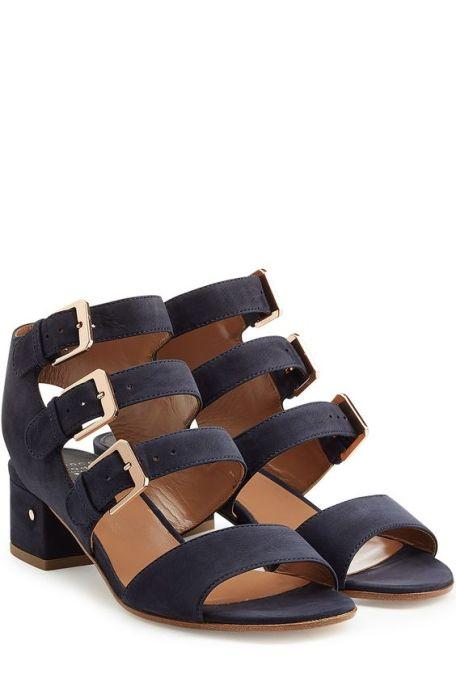 Laurence Dacade Klio suede sandals