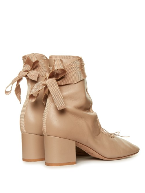Valentino ballerina ankle boots