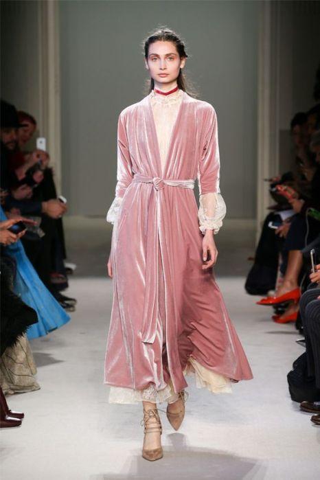 Luisa Beccaria velvet dress