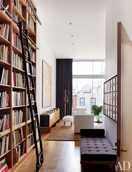 Architectural Digest Annabelle Selldorf and D'Apostrophe Design Renovate a New York Townhouse