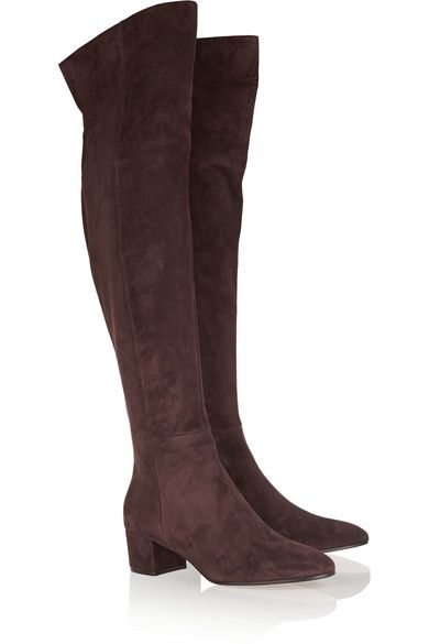 Gianvito Rossi over the knee boots