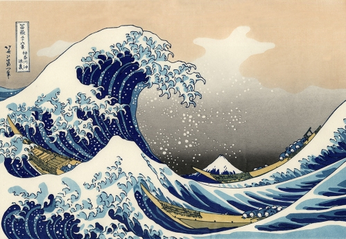 The Great Wave Off Kanagawa by Hokusai, 1830