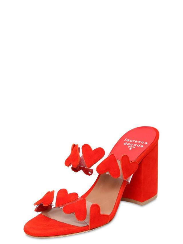 laurence-dacade-RED-85mm-Tara-Plexi-Suede-Mules